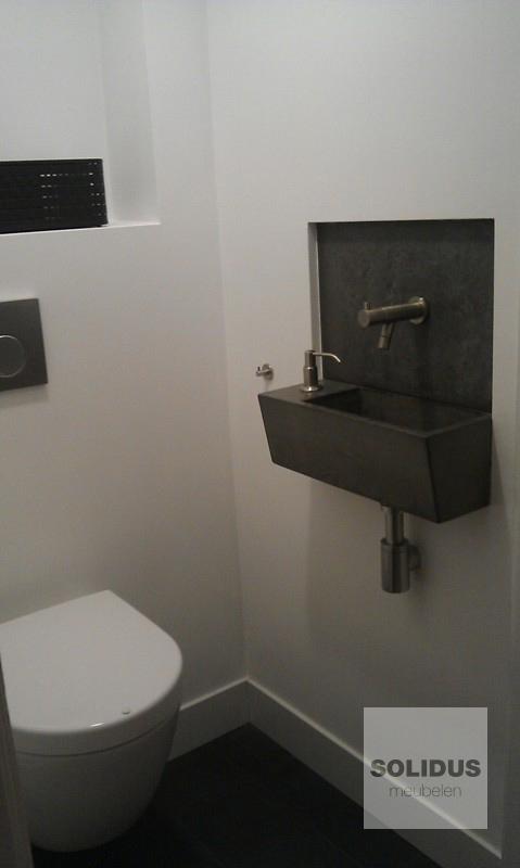 toiletfontein op maat gemaakt